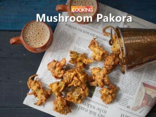 Mushroom pakora | Ventuno Home Cooking