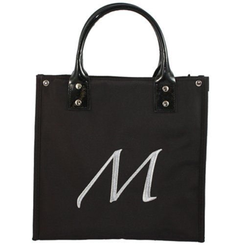 """Danielle D6660M Monogrammed Lunch Tote """"M"""" by Danielle. $24.99. Made from high quality microfiber, monogrammed with your initial for that extra special touch."""