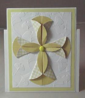 más y más manualidades: Usa círculos de papel para crear hermosas tarjetas