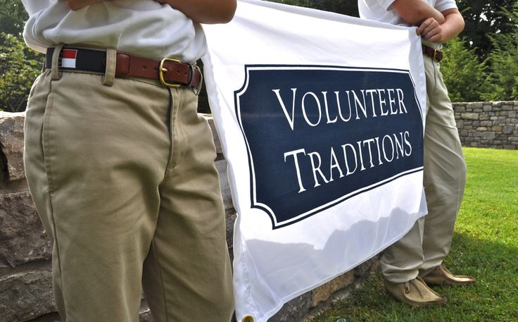 Volunteer Traditions Flags