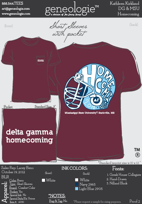 delta gamma t shirt - Homecoming T Shirt Design Ideas