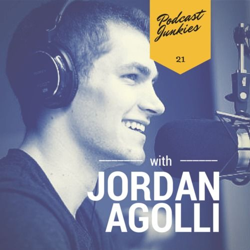 In this Jordan Agolli interview, we meet the dynamic host of the Teenage Entrepreneur podcast. At age 20, he's already run a successful 20-person business, and is now working on several big ideas. Inspirational indeed!  FULL SHOW NOTES: bit.ly/pcjnk_21