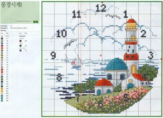Crochet Knitting Handicraft: Hours to cross stitch