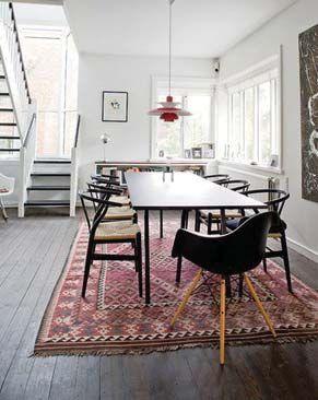 orientalisk matta, inspiration från MVRDV:s villa VPRO