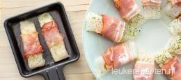 Gourmet recept: vis met spek