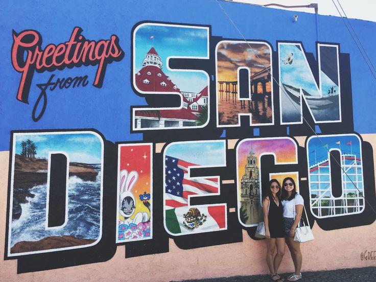 San Diego greetings tour sign #sandiego #greetingstour