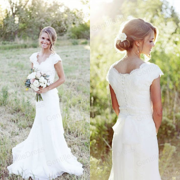 25  best ideas about Modest wedding dresses on Pinterest | Modest ...