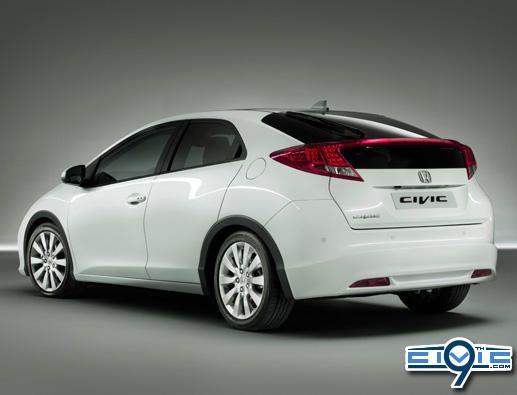 2012 Euro Honda Civic Hatch