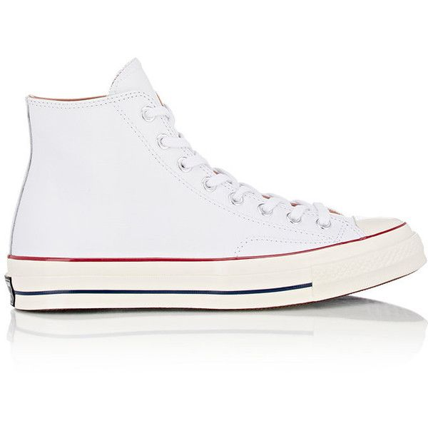 Converse Chuck Taylor All Star '70 Sneakers (375 SAR) ❤ liked on Polyvore featuring men's fashion, men's shoes, men's sneakers and white