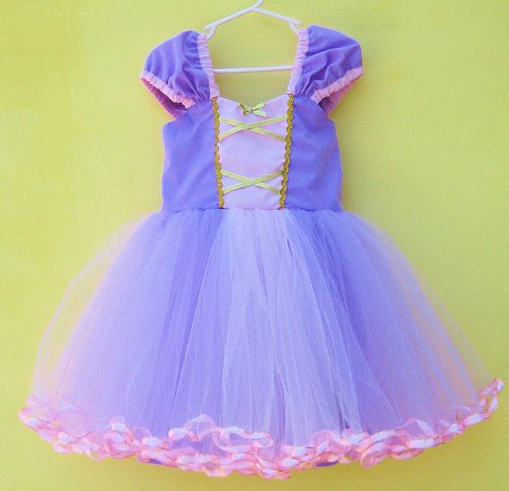 RAPUNZEL costume dress  TUTU dress  for by loverdoversclothing, $62.00