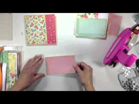 Pocket Page Mini Album Tutorial Series Part 4 - YouTube