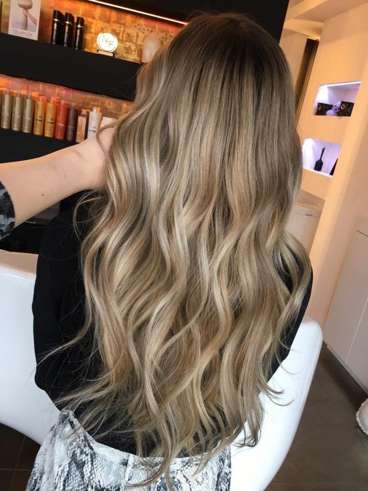 Sand Blonde In 2020 Haar Styling Dunkelblonde Frisuren Frisuren Langhaar