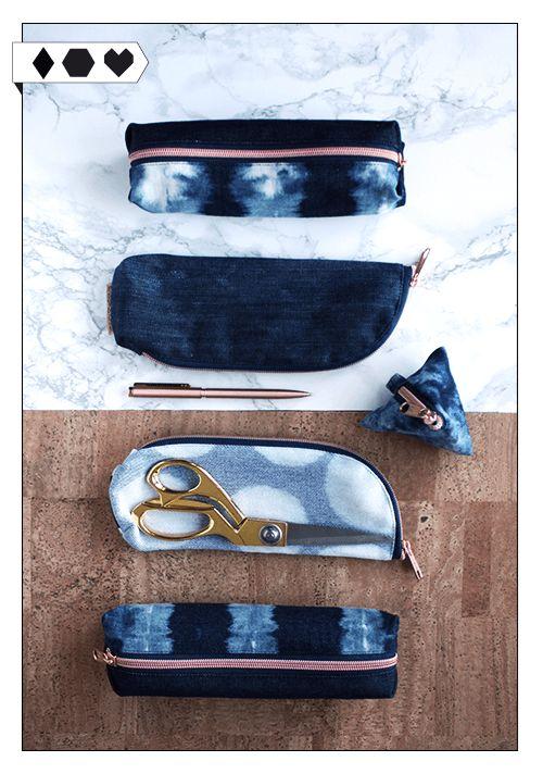 Bridge & Tunnel Mini Bags: Die kleinen Etuis und Mini Bags von Bridge & Tunnel werden aus recyceltem Denim hergestellt – handmade & unter fairen Bedingungen