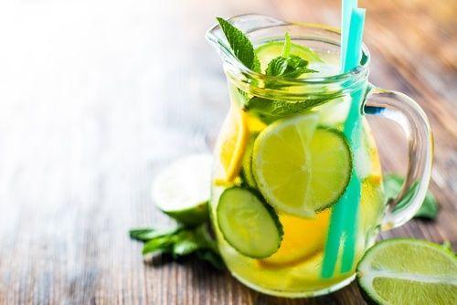 Mit Gurke, Zitrone und Orange den Stoffwechsel anregen