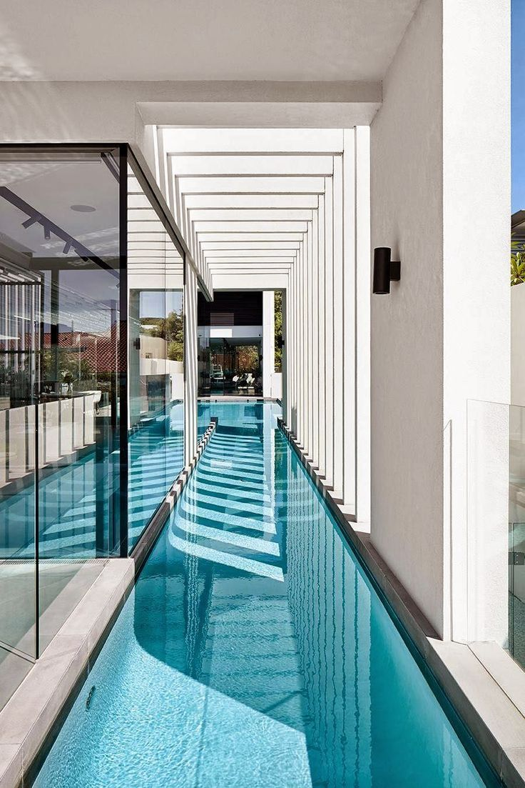 Piscine amazing gold pinterest piscines piscine for Extension piscine couverte