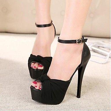 Shimandi ® Nylon Women's Stiletto Platform Heels Shoes(More Colors) – USD $ 24.99