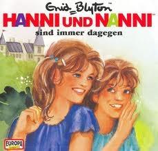 Oh how I loved Enid Blyton's 'Hanni und Nanni'.