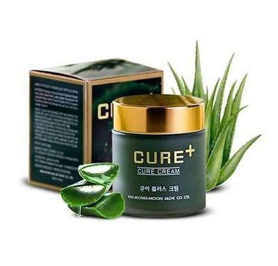 [Kim Jeong Moon <b>Aloe</b>] Lascens Loe Cure Plus <b>Aloe Cream 80g</b> ...
