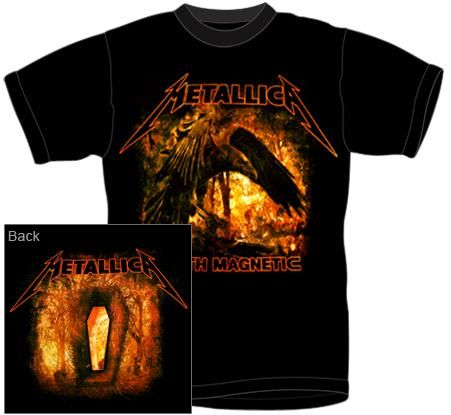 Metallica T-Shirt - Death Magnetic Raven