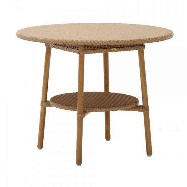 Bistrotisch Claudia Rattan Bistrotisch Couchtisch Rund Tisch