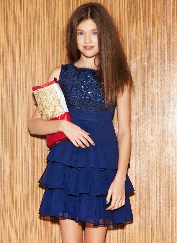 Brilhos da Moda: Roupa de Festa para Criança