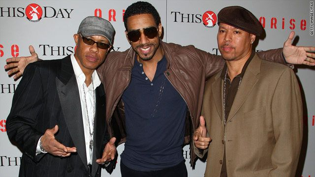 Rapper Guru, left, shown here with musician Ryan Leslie and producer Solar, died Monday of complications from cancer.