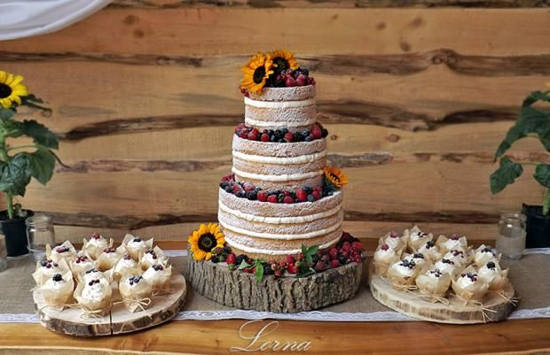 "Moja prvá ""naked cake"" , svadobné torty | Tortyodmamy.sk"