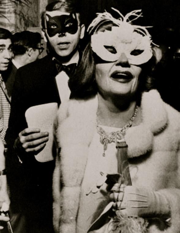 Talullah Bankhead at Truman Capote's Black and White Ball