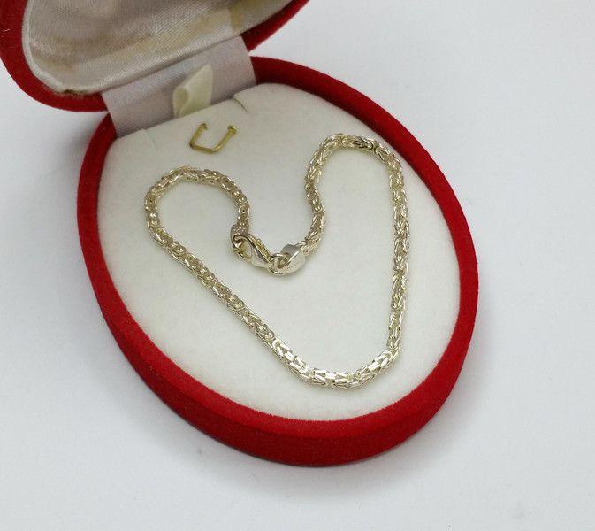 925+Silber+Königskette/Armband+21+cm+2,4+mm+SA102+von+Atelier+Regina++auf+DaWanda.com