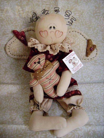 Boneca Love | Amábile's Country Dolls | A959F - Elo7                                                                                                                                                     Mais