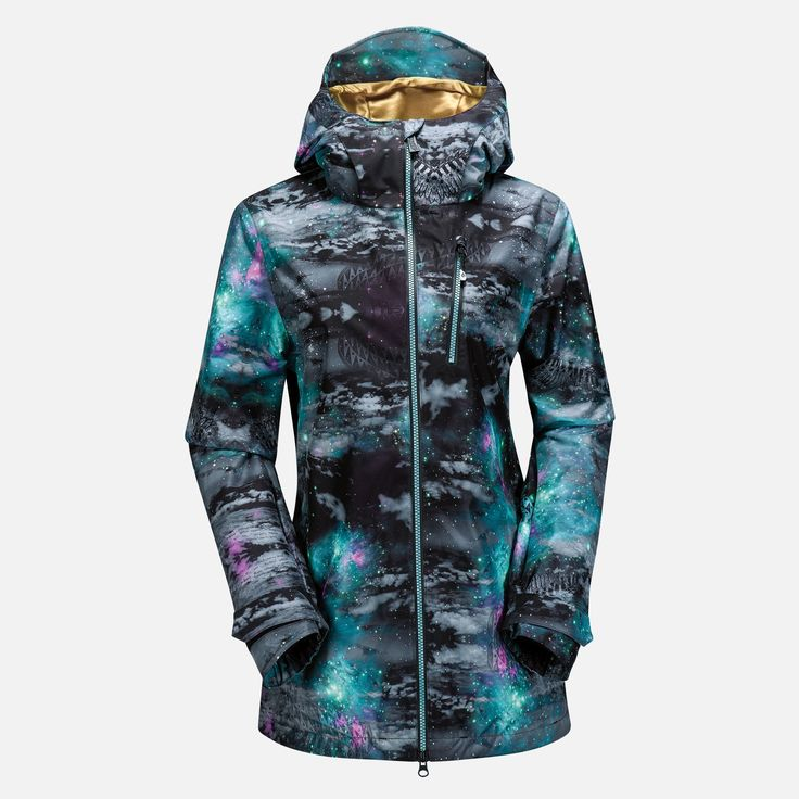 Love this Volcom Astrid Gore-Tex Jacket - Women's Snowboarding Jacket.  There's never enough Goretex women wear!