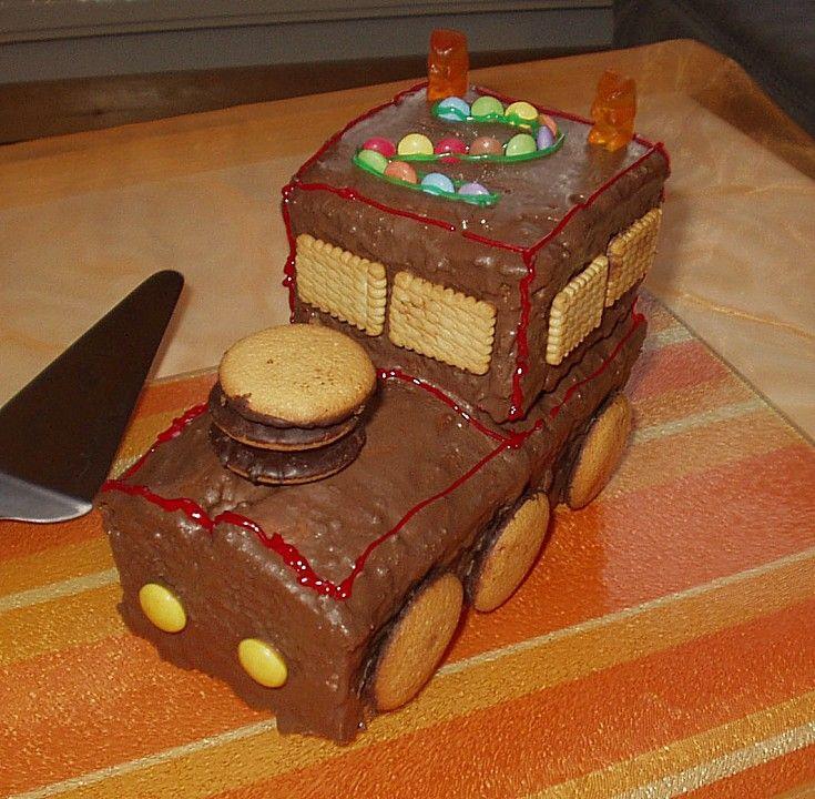 Schneller Zug - Kuchen 25