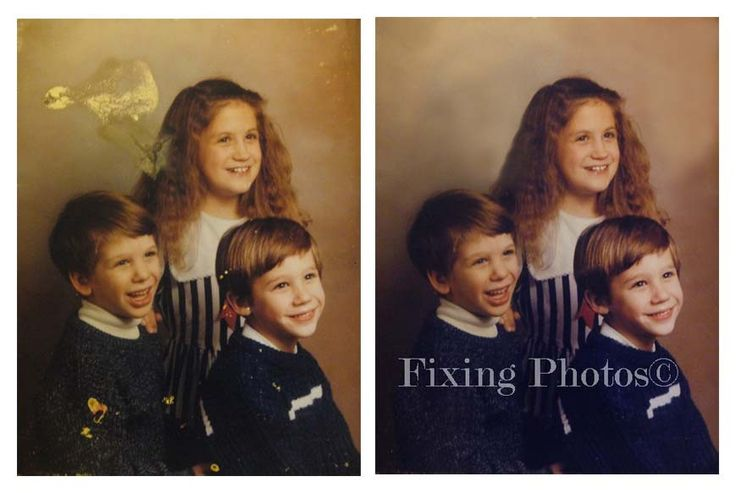 Photo Repair Wizards fix photos or portraits damaged by time and the elements. Reasonable prices! http://www.fixingphotos.com #photoretouching #giftideas