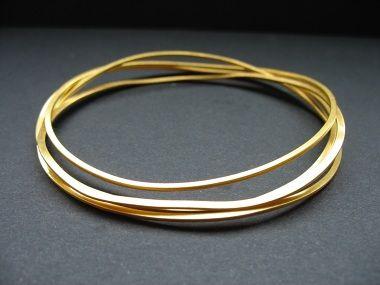 Letizia Plankensteiner – Schmuckunikate, Armreifen Gold