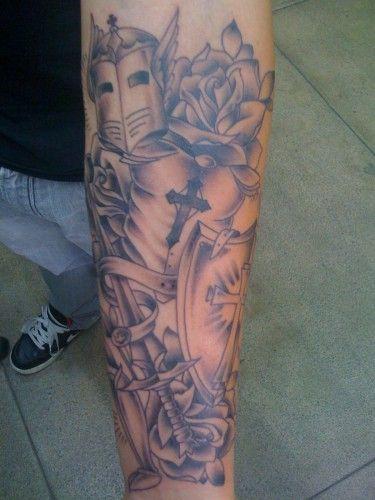 pretty cool Armor of God tattoo