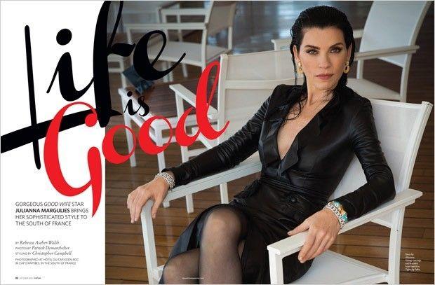 Джулианна Маргулис для CBS Watch Magazine