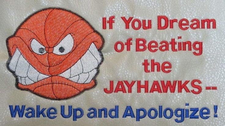 UNIVERSITY OF KANSAS JAYHAWKS Basketball Office Chair Seat Pad