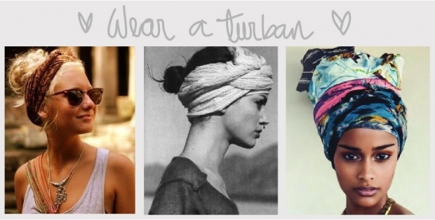 wear a turban