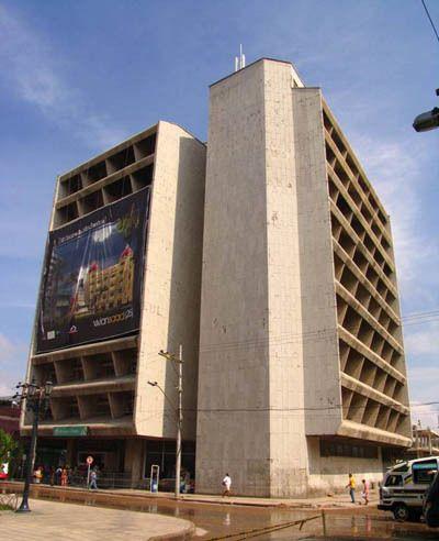Edificio Caja Agraria de Barranquilla / Fernando Martínez Sanabria #architecture