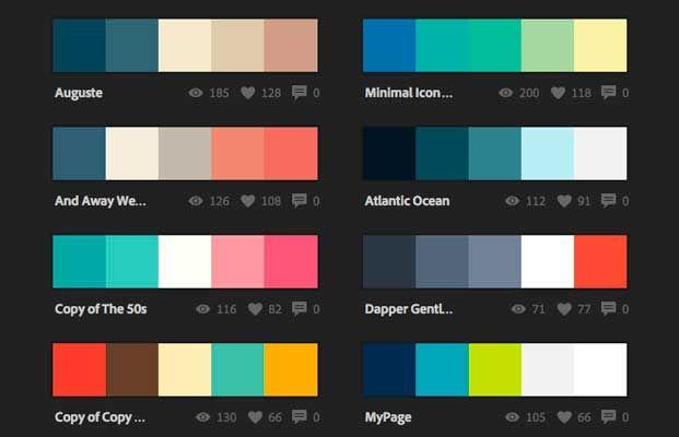 Paleta de colores para el diseño 2016 | SEGRET & ASOCIADOS                                                                                                                                                                                 Más