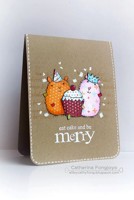 Eat cake and be Merry  by cathy.fong, via Flickr