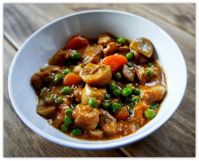 Jusia gotuje , food blog, healthy, zdrowo, jedzenie, proste gotowanie, : Gulasz z indyka.