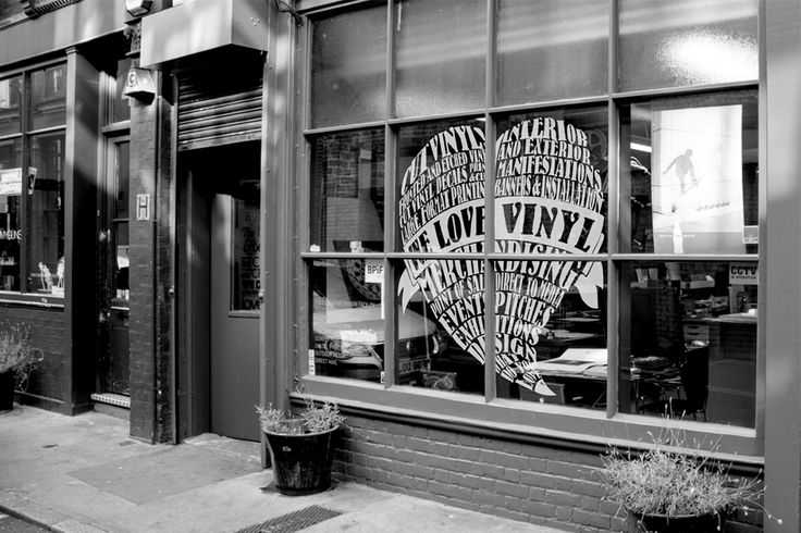 #vinyl #print #window #ourphilosophy #heart #decorative #design