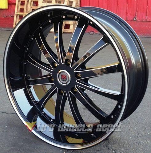 22 Quot Inch Rsw 77 Rims Tires Lexus Maxima Cadillac Altima