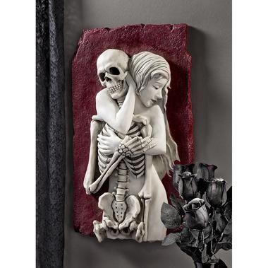 Flesh and Bone Skeleton Wall Sculpture