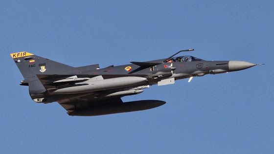 Colombian Air Force grounds IAI-built Kfir aircraft fleet