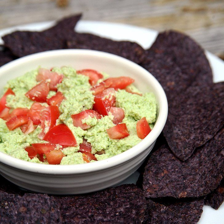 Save Guacamole Calories by Swapping Avocados With This Green Ingredient: It looks like guac, doesn't it?