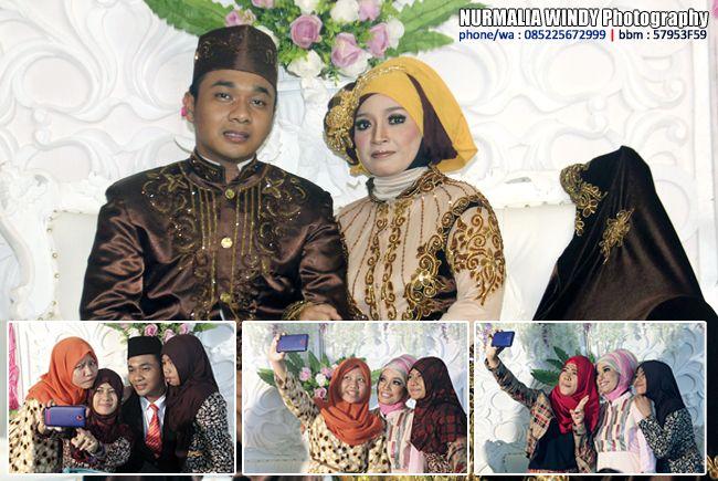 Nurmalia Windy - Fotografer Purwokerto | Windygraphy | Fotografer Wedding | Fotografer Prewedding: Selfi dalam Hijab Wedding  - Foto oleh : Nurmalia ...