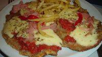 Milanesa de Ternera a la Napolitana - Argentina Food - Comida Tipica Argentina
