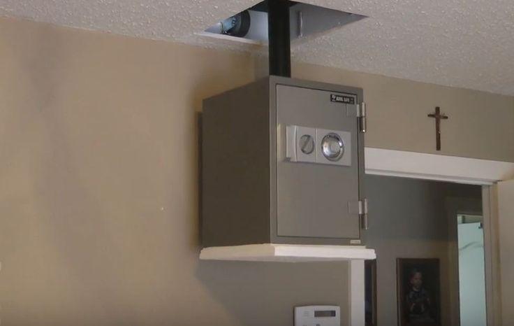 The 25 best hidden safe ideas on pinterest secret gun for Hidden floor safes for the home